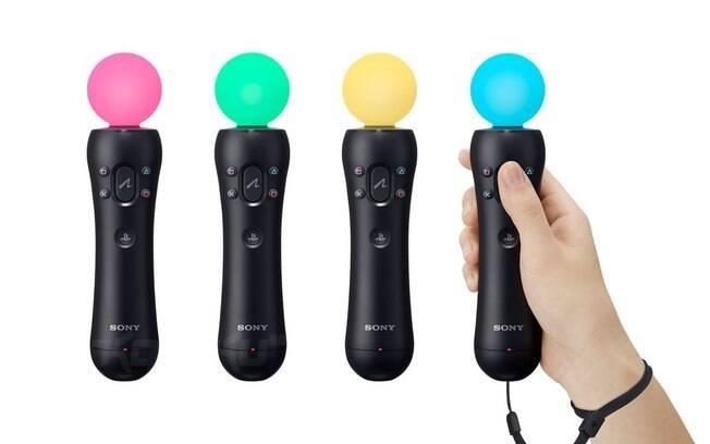 O PS Move foi a estreia da Sony (produtora do Playstation e grande rival da Microsoft no mercado de videogames) em dispositivos de captura de movimentos