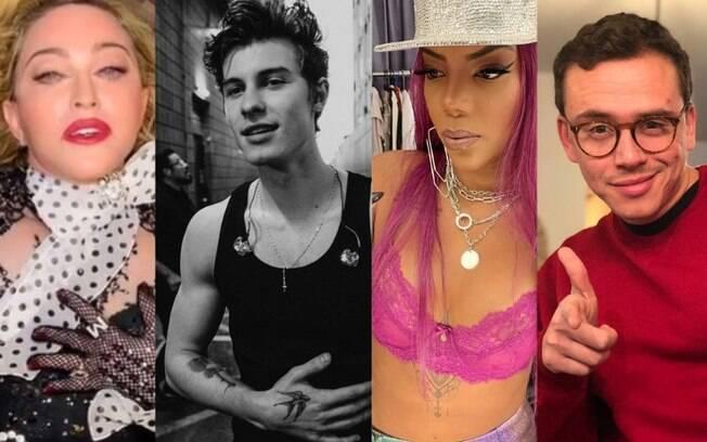 Madonna, Shawn Mendes, Ludmilla e Logic estão nos lançamentos musicais da semana