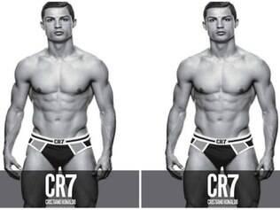 Garoto propaganda de linha de roupas íntimas, Cristiano Ronaldo faz sucesso na internet
