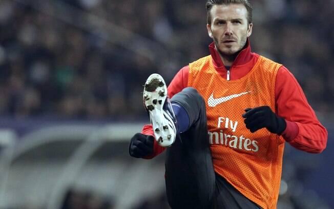1º) David Beckham - jogador do PSG