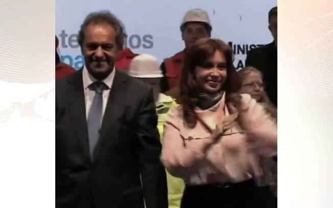 Dancinha de presidente da Argentina viraliza na web