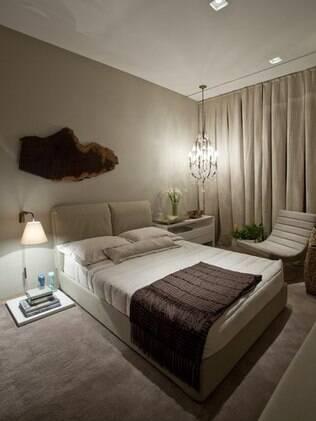 No quarto, os tapetes felpudos e confortáveis são mais indicados
