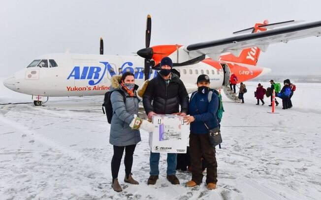 Air North leva vacinas para áreas remotas do Canadá