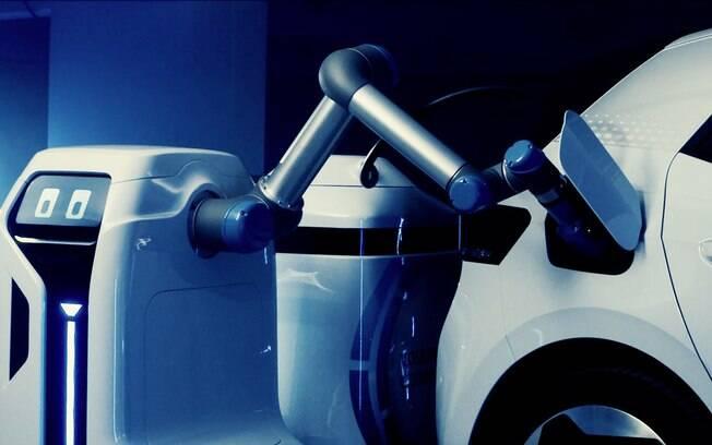 Unidade portátil de recarga da Volkswagen funciona de maneira autônoma