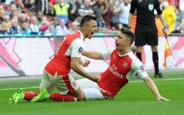 Arsenal vira pra cima do Manchester City e decide título em clássico londrino