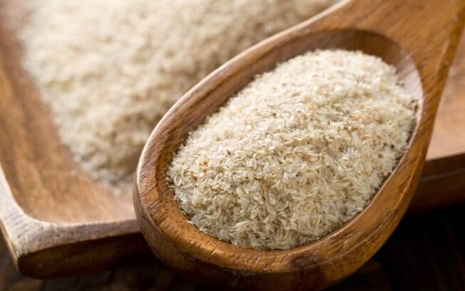 Alimentos que ajudam a emagrecer : psyllium é feito a partir da casca de uma semente asiática