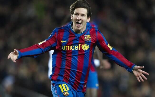 Em 2010, Messi também foi o melhor do mundo