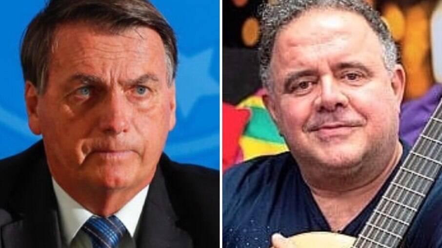 Jair Bolsonaro e Leo Jaime
