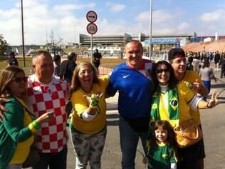 Croatas se sentem em casam com recepção calorosa do povo brasileiro