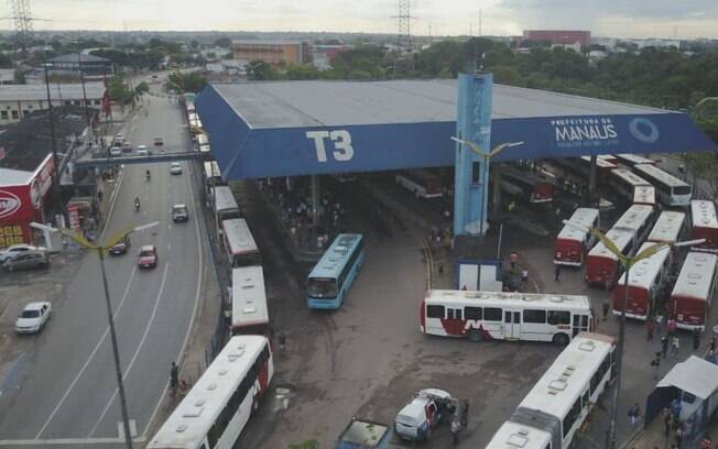 Greve dos rodoviários: protestos violentos foram registrados em diferentes pontos de Manaus