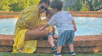 'Filhos de Paulo Gustavo voltaram a sorrir', diz Mônica Martelli