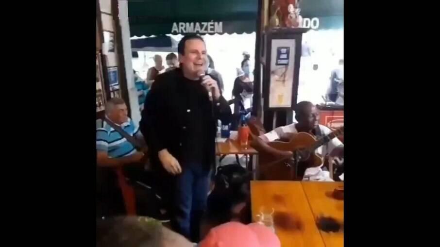 Eduardo Paes, prefeito do Rio
