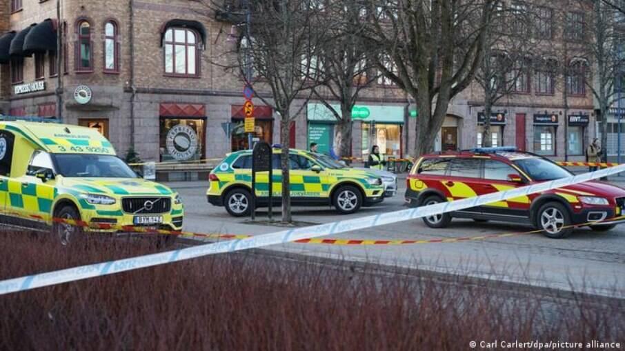 Polícia sueca trata como ataque terrorismo os incidentes na cidade de Vetlanda
