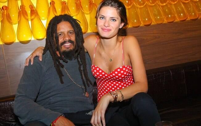 Isabeli Fontana e Rohan Marley: assumidíssimos!