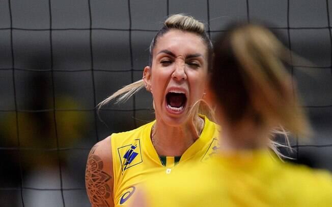 Thaisa revelou expectativas para a participação do Brasil no Mundial: