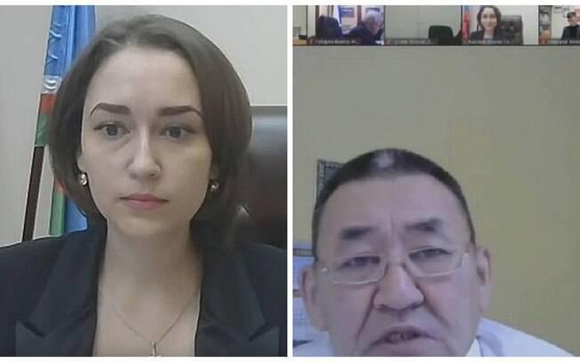 Líder comunista, Ammosov aparentemente disse a Irina Vysokikh, durante a sessão que, por ser um