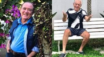 """""""Não tenho coragem"""", diz Carlos Alberto ao desistir de Renato Aragão em A Praça é Nossa"""