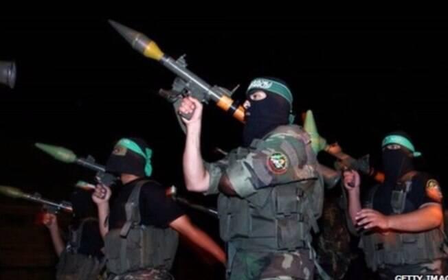 Atuando na Faixa de Gaza, o Hamas - considerado terrorista pelo FBI -  tem renda anual de ao menos US$ 1 bilhão. Foto: Reprodução/Youtube