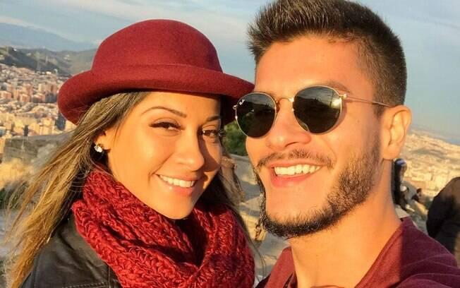 Arthur Aguiar apaga vídeo em que falava sobre Mayra Cardi