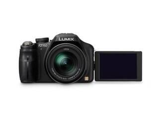 Panasonic Lumix FZ150 possui tela LCD articulada