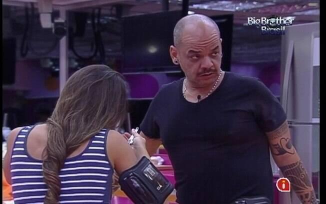 Laisa e João Carvalho comentam sobre o jogo