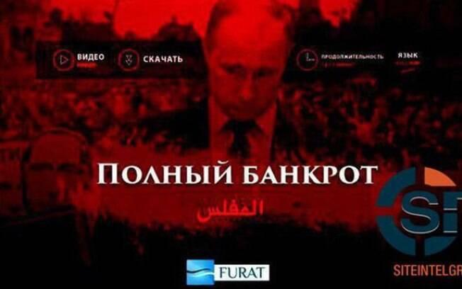Imagens, gravadas em russo e em árabe pelo grupo terrorista Estado Islâmico, duram 12 minutos e foram tiradas do Youtube