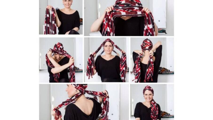 Outubro Rosa: Passo a passo com lenços