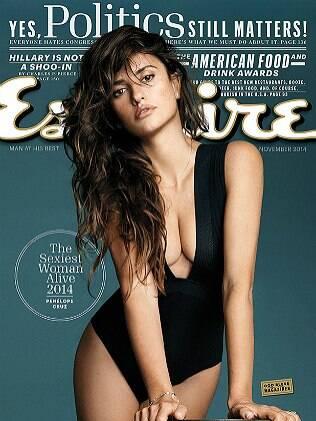 Capa da revista Esquire com Penélope Cruz