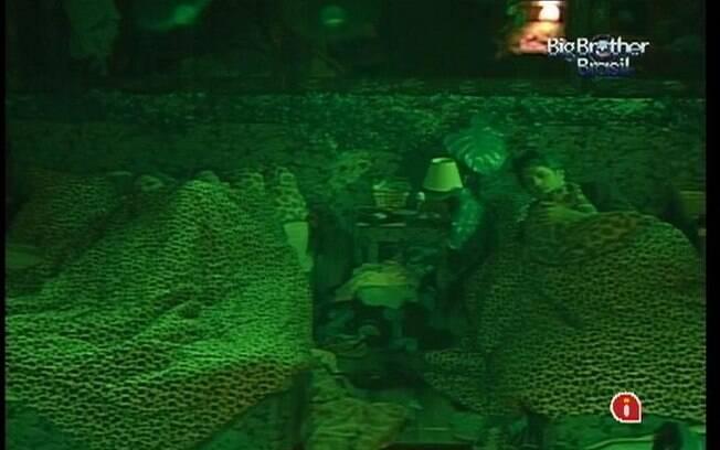 Brothers se rendem ao sono no Quarto Selva