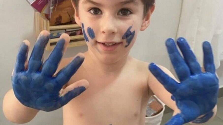 O menino Henry Borel  tinha 4 anos; morte está em investigação