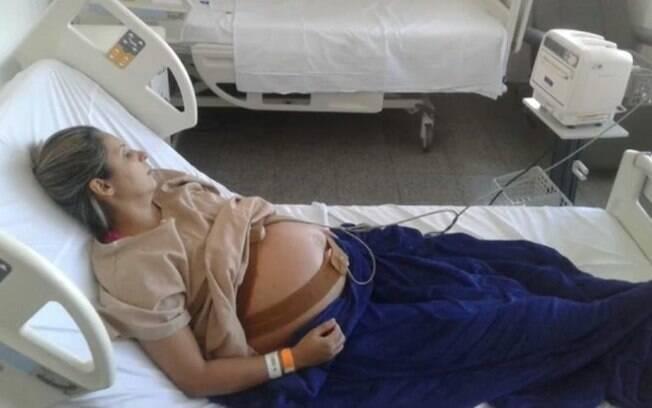 Grávida,Tatiane da Silva daria à luz na última quarta-feira