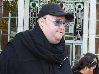 Kim Dotcom, o fundador do Megaupload