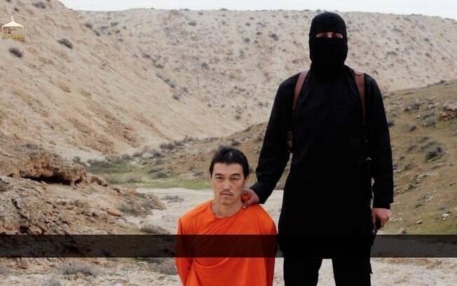 O jornalista japonês Kenji Goto foi morto pelos extremistas do Estado Islâmico no dia 30 de janeiro. Ele havia viajado para a Síria visando libertar o refém Yukawa