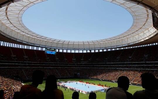 Maior 'elefante branco' pós Copa, Mané Garrincha terá jogo oficial só em maio - Futebol - iG