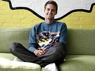 Evan Spiegel, fundador do Snaptcha e candidato a novo milionário do setor