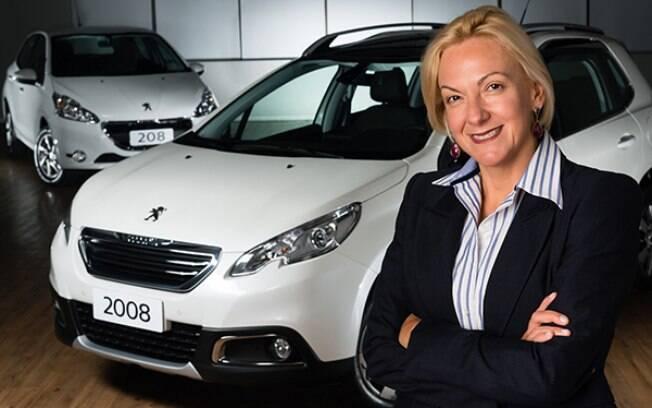 Ana Theresa Borsari é a  a principal responsável pelo processo de reestruturação da Peugeot no Brasil