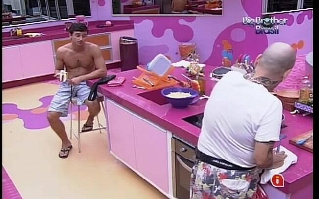 Fael e João Carvalho falam sobre o medo de estar no Paredão