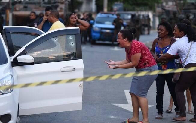 Homem morre após ser baleado em ação do Exército na Zona Oeste do Rio