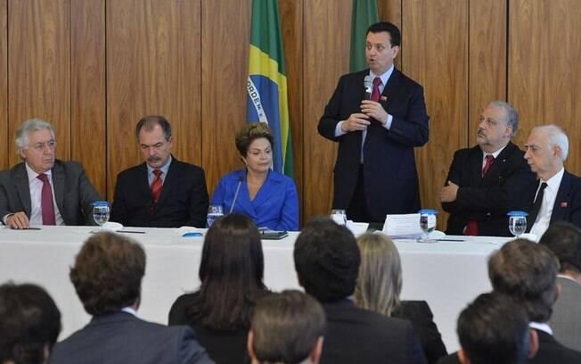 PSD reafirma apoio a Dilma e fará parte da base aliada do governo (nov/2014)
