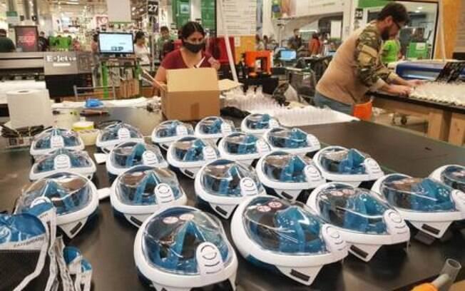 2.200 máscaras adaptadas serão doadas pela iniciativa