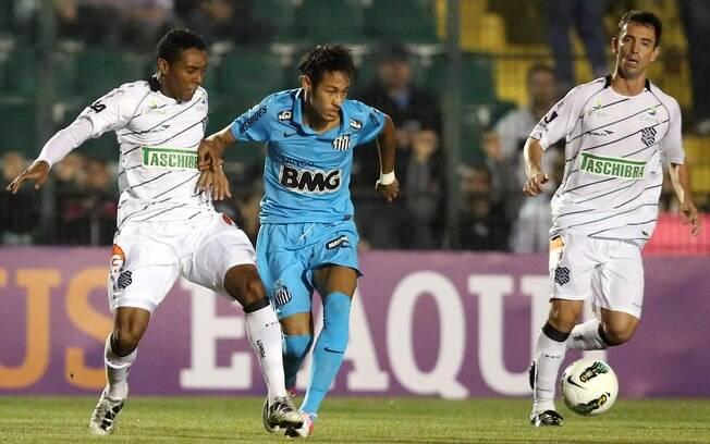 Neymar em ação