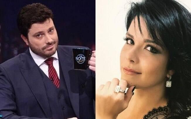 Danilo Gentili e Samara Felippo