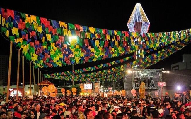 Imagem do São João de Caruaru (PE)