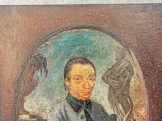 Retrato do escultor, de autoria de Euclásio Penna Ventura
