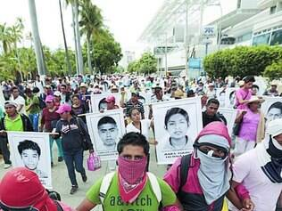 Protestos.Desde desaparecimento, país foi tomado por manifestações