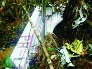 Destroços do bimotor, desaparecido há mais de um mês no Pará