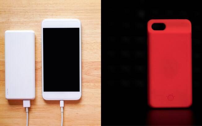 Precisa carregar a bateria do celular? O power bank e a capa carregadora podem ajudar, mas ambos têm prós e contras