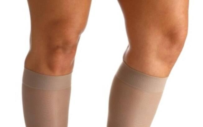 Uso de meias de compressão anti trombose é uma das formas mais eficazes de prevenção à doença