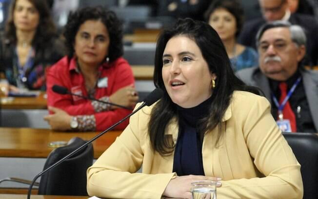 A senadora Simone Tebet (MS) é uma das indicadas do PMDB para compor a comissão do impeachment no Senado. Foto: Geraldo Magela/Agência Senado - 16.12.15