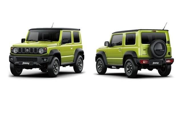 Suzuki Jimny: nova geração mantém estilo retrô, mas com ares mais modernos, em duas versões